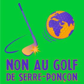 Non au golf de Serre-Ponçon